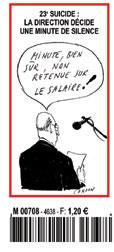 """Cardon, dans le """"Canard enchaîné"""" du 16 septembre 2009"""